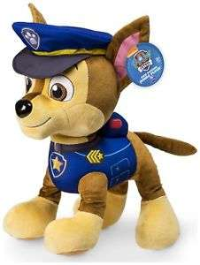 Paw Patrol Jumbo Plush Cuddly Toy Chase £7.99 Delivered @ eBay Argos