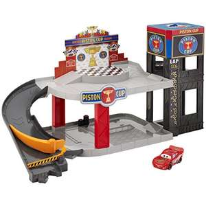 Disney Cars Piston Cup Racing Garage £13.99 Prime / £18.48 Non Prime On amazon