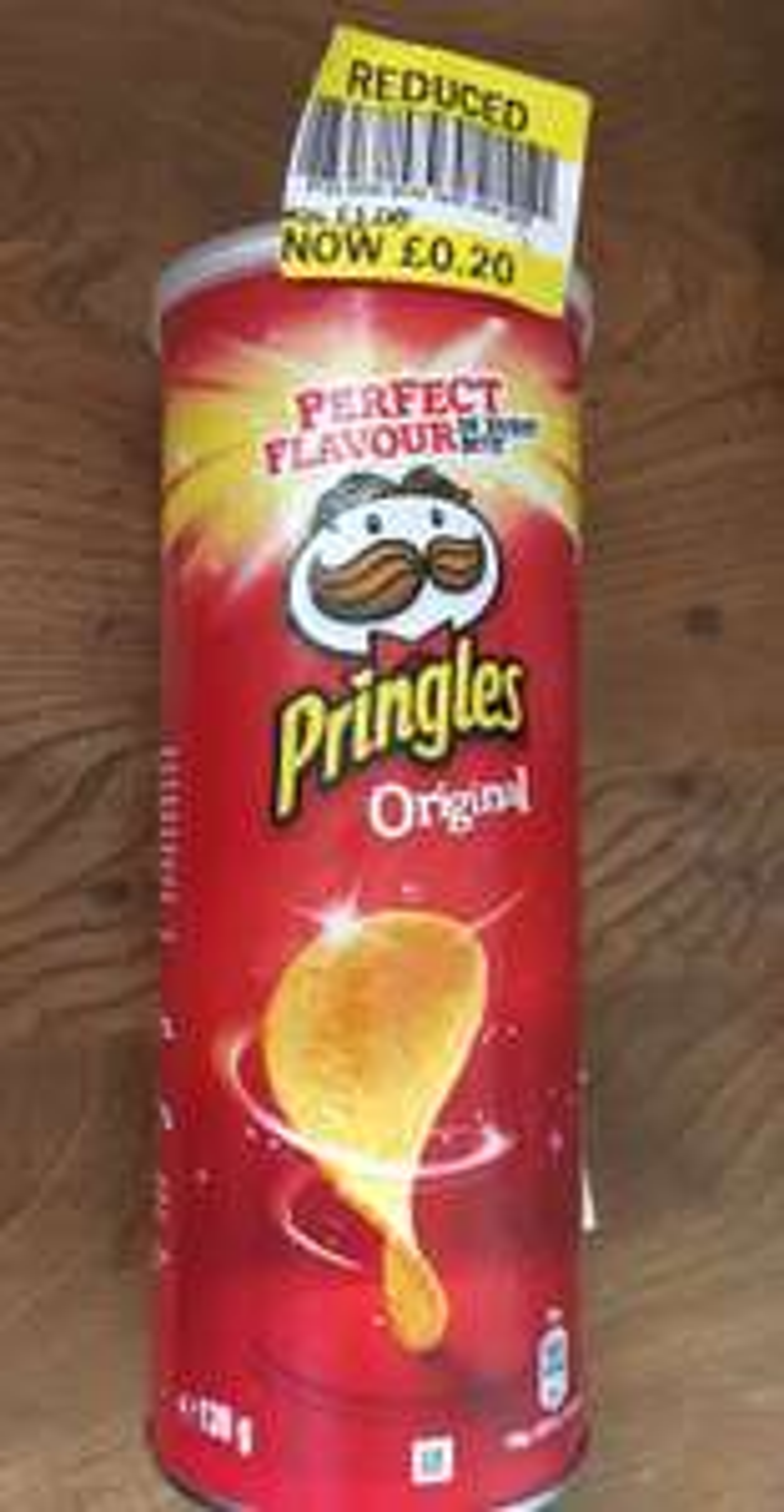 Pringles - original/salt vinegar/barbecue @ Tesco 20p