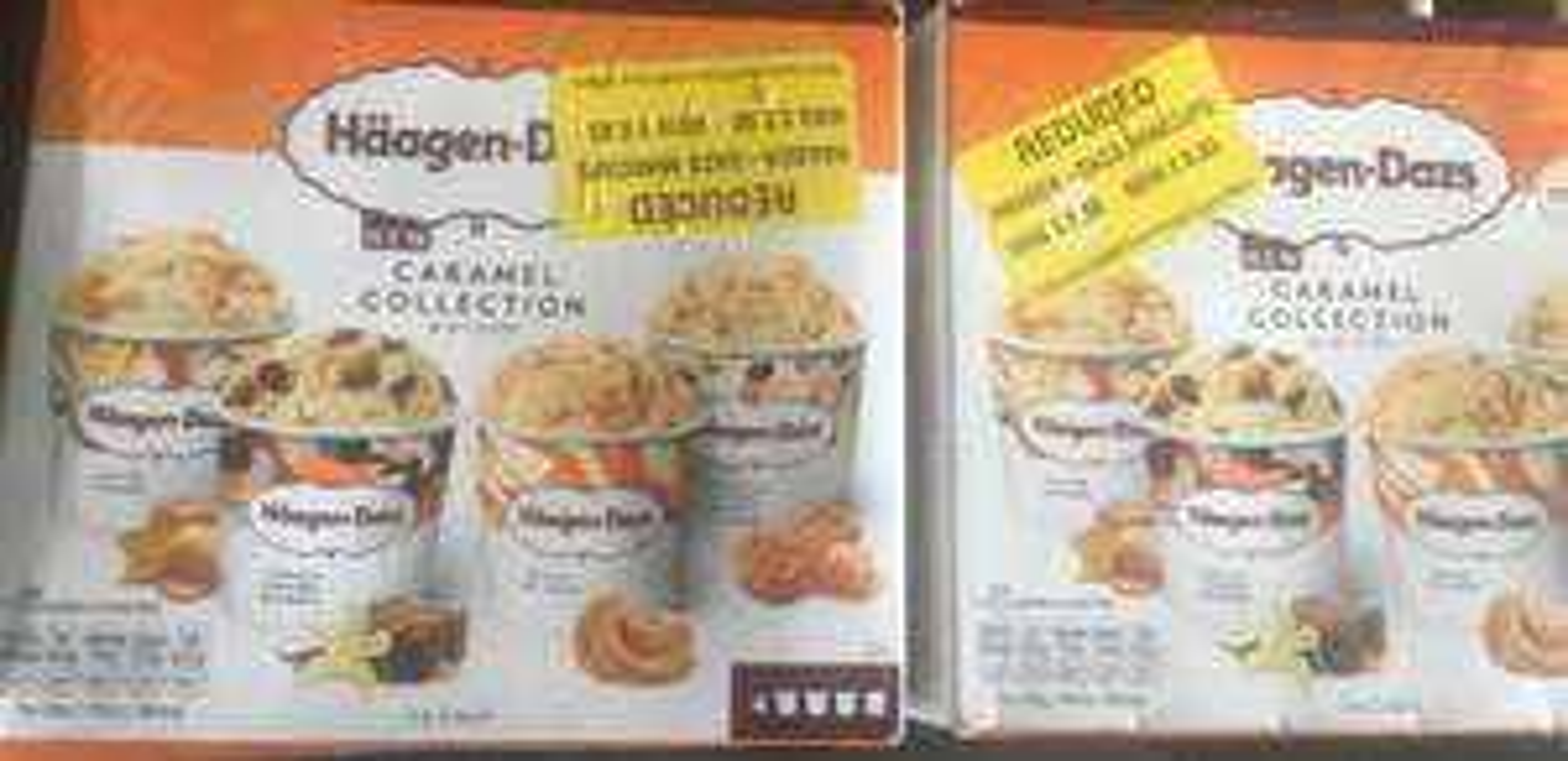 Haagan-dazs mini cups caramel collection £0.63p at morrisons