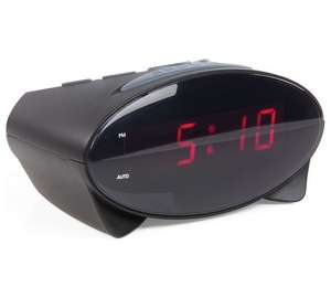 Constant Elliptical Alarm Clock - Black - £4.49 @ Argos C&C