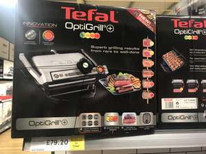 Tefal OptiGrill Plus £79.20 instore @ TESCO