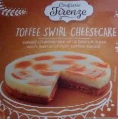 Lidl Confiserie Firenze Swirl Cheesecake 375g/445g 65p @ Lidl