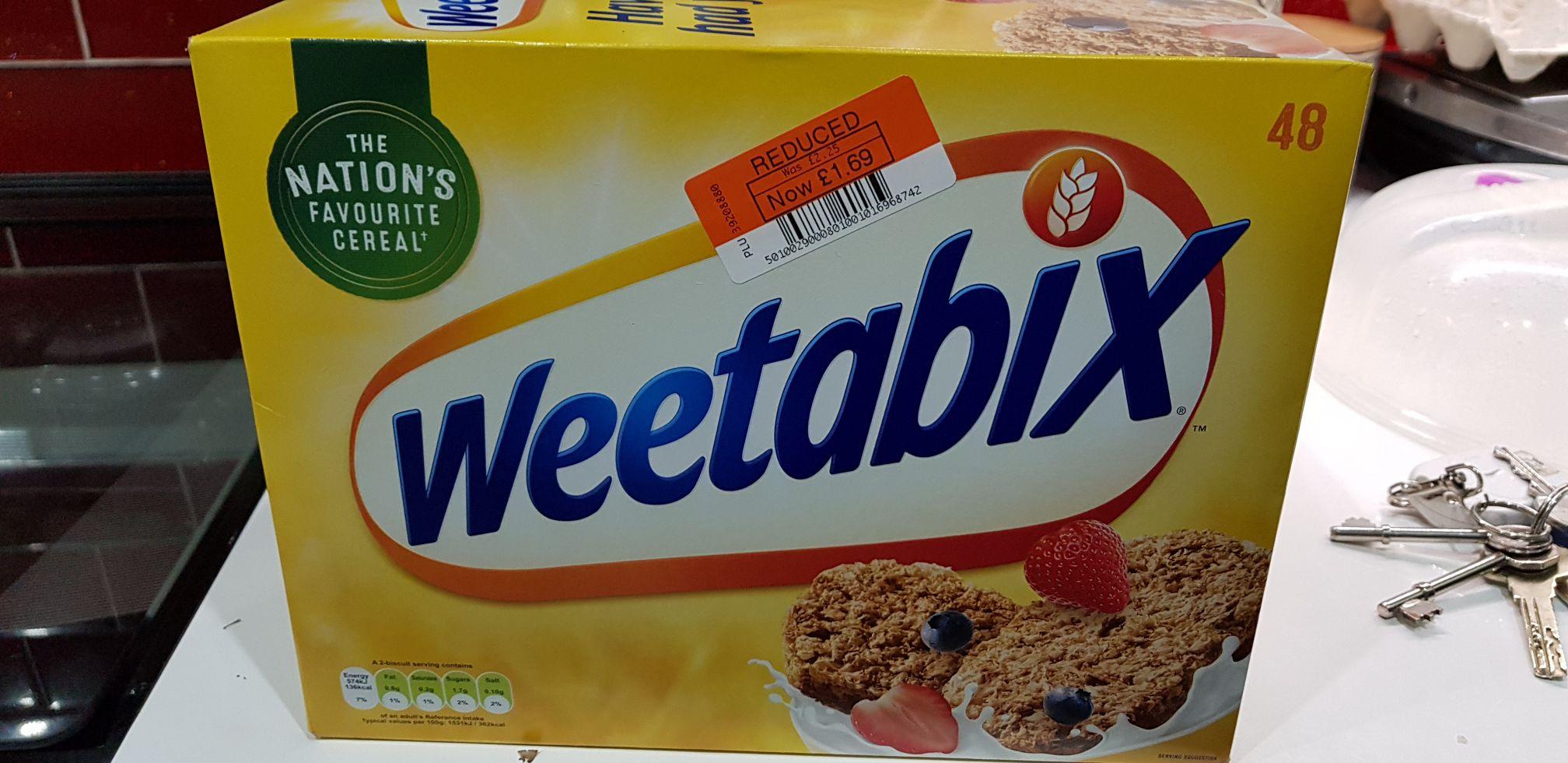 48 Weetabix Pack @ in-store Co-op Barkingside £1.69