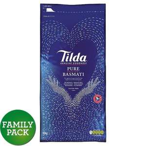 Tilda Basmati Rice 10KG reduced to £4.75 from £19.00 instore @ Tesco (Seacroft Leeds)
