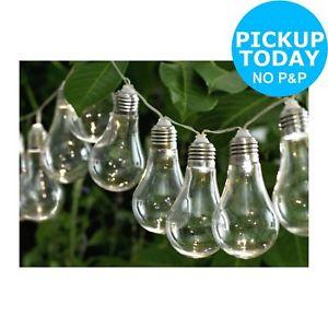 Set of 20 Solar Powered Bulb String Lights £7.99 delivered @eBay/Argos