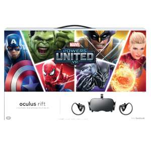 Oculus Rift with Controllers + Game £399 Overclockers