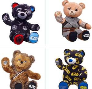 Up to 60% off on selected styles at Build a Bear inc Starwars 13th to 15th to Celebrate National Monster Day (+£3.99 Del)