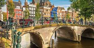 Amsterdam Autumn City Break from including flights and hotel £99pp @ Holiday pirates