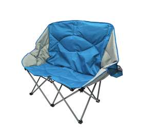 Back In stock! Ozark Trail Blue 2-seater Folding Camping Sofa £15 + £2.95 delivery (£17.95) @ Asda online