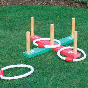 Kingfisher Wooden Deck Quoits and Hoopla game £5.79 delivered @ eBay sold by vinsaniuk