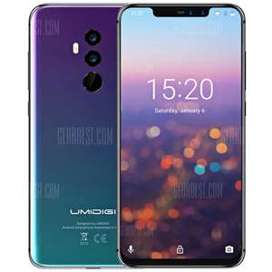 UMIDIGI Z2 PRO 4G (Octa-Core / 6GB RAM / 128GB / 3550mAh Battery)  for £237.45 Delivered @ Gearbest
