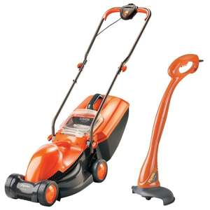 Flymo Visimo or Flymo Easimo Rotary Lawnmower & Mini Trim Twin Pack £49.99 (Each Twin Pack) @ B&M
