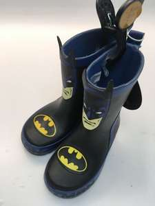 Batman Wellies scanning for £1 in store at Primark Gateshead