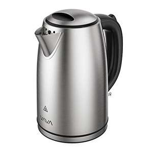 1.7L Electric Tea Kettle with British Strix Control, Auto Shut-Off & Boil Dry Protection & more £17.99 Prime / £20.30 non prime @ SVT Fulfilled by Amazon