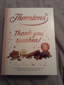 Reduced to clear Thorntons 179g Thank You Teacher! 4p at Co-Op Salford