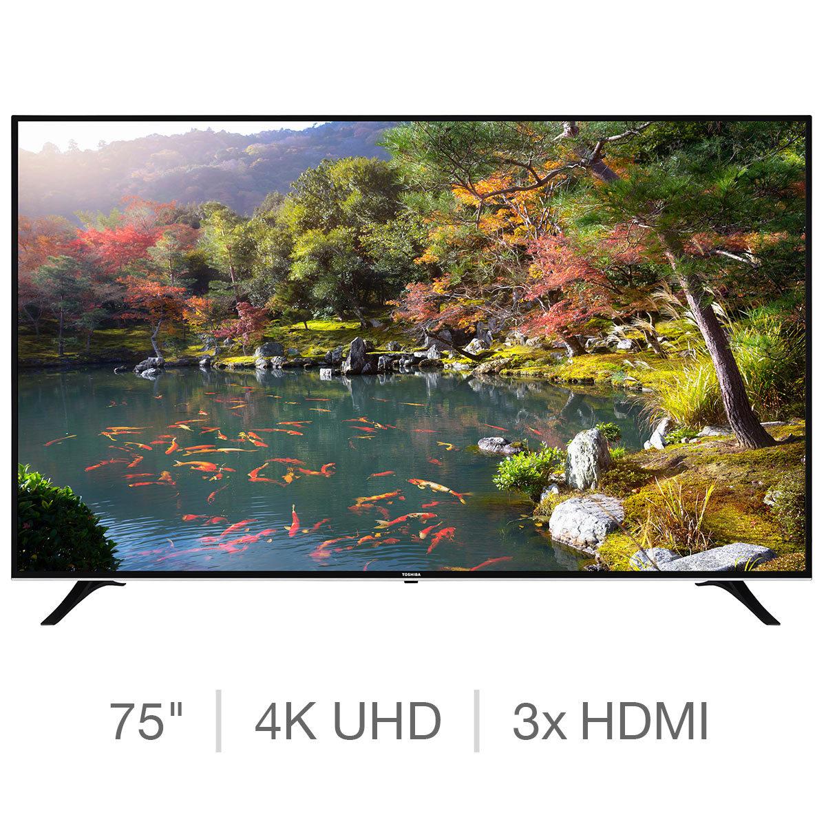 Toshiba 75U6763DB 4K Ultra HD Smart TV - £999 Costco in store incl VAT