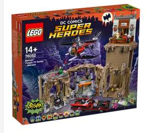 LEGO 76052 DC Super Heroes Batman Classic TV series Batcave