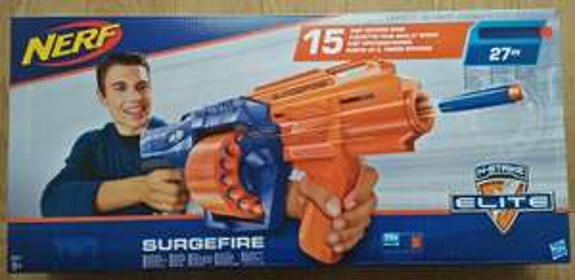 Nerf Surgefire 12.50 @ Tesco (Sheffield) instore