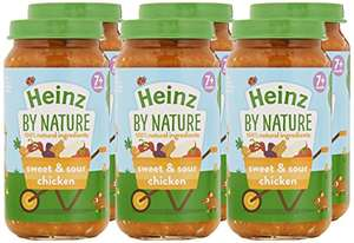 Heinz Little Kidz Sweet and Sour Chicken Rice Tray, 200 g (Pack of 6) £2.37 amazon add on item minimum 20 pound spend required