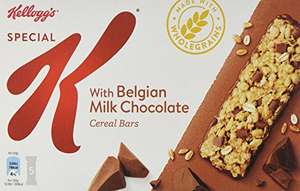 Kellogg's Special K Double Chocolate Cereal Bars, Pack of 10, 5-Count £5.65 amazon add on item minimum 20 pound spend required