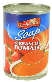 Batchelors 4x400g packs of tins cream of tomato soup 2 for £1 thats 8 tins for £1 instore @ Farmfoods - ascot road store,Derby