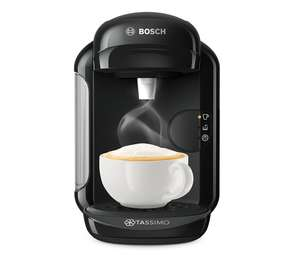 Bosch Tassimo Vivy 2 TAS1402GB Coffee Machine (Used - Very Good Condition), 1300 Watt, 0.7 Litre - Black amazon warehouse deals - £26.36