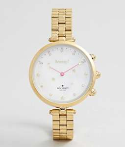 Kate Spade Women's Holland Hybrid Stainless Steel Watch Gold £175 + Free delivery @Asos