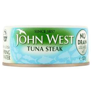 John West No Drain Tuna Steak with a Little Spring Water, 3 x 110 g - Amazon Pantry £2.13 (+£2.99 P&P)