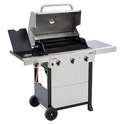 Char-Broil Tru-Infrared 3 Burner & Side Gas Grill £70 @ Asda Mansfield