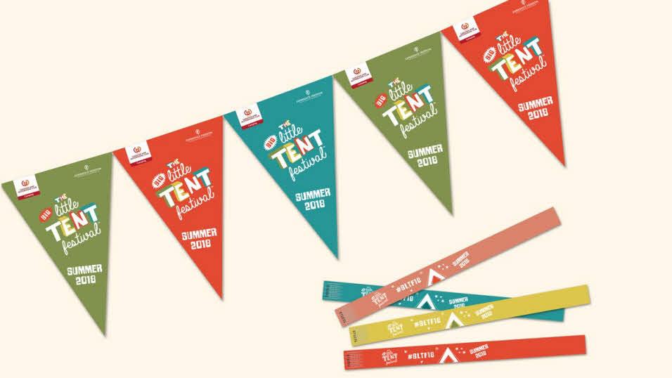 Free big little tent festival pack via Caravan Club