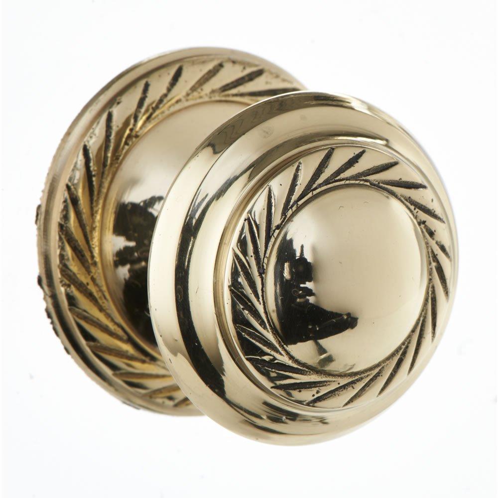 Georgian Brass cupboard door knob 32mm now £1, Chrome button 32mm £1,Chrome button 38mm £1.50 @ Wilko online - Free C&C