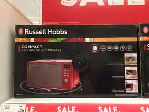 Russell Hobbs compact microwave 17L 700w £55 instore in Asda Cumbernauld