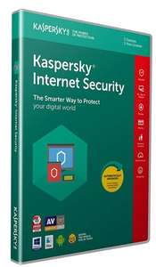 Kaspersky Internet Security 2018, 5 Devices £14.99  Amazon deal