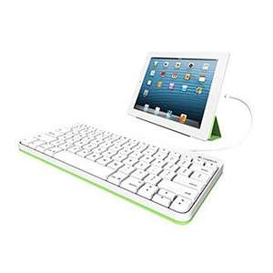 Logitech Keyboard with Wired Lightning Connector - works for most iPad's £9.98 Delivered @ Scan