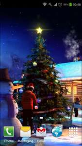 Free 3D Christmas Wallpaper @ Google Play