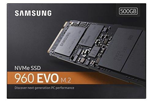 Samsung 960EVO 500GB NVMe M.2 Solid State Drive £149.99 Amazon