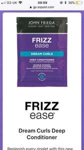 Free Frizz ease sample