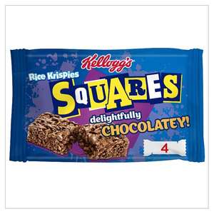 Kelloggs Rice Krispie Squares Chocolatley Chocolate Caramel Squares 4x36g Frosties  Rice Krispies Coco Pops Cereal Bars 6 X 25G all £1 From 15th Aug links in op @ Tesco