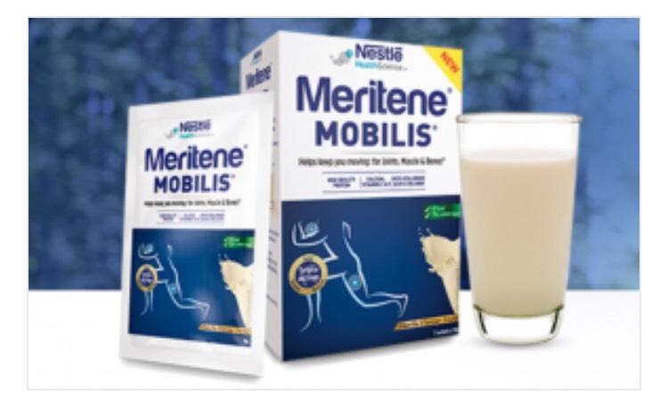 Free Nestle Meritene Mobilis Vanilla Milkshake