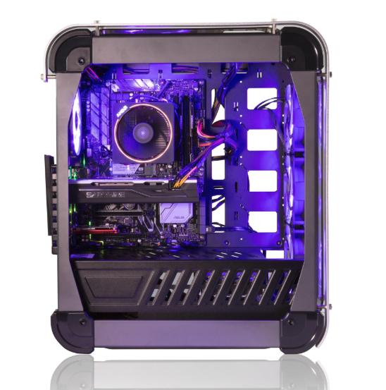 Stormforce Lux Desktop Gaming PC - Ryzen 1700x / 16GB RAM / 580 8GB / 256GB SSD + 2TB HDD £899.99 @ Box