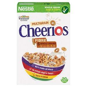 Nestle Cheerios Multigrain Cereal 600G  HALF PRICE ONLY £1.65 From 15th Aug @ Tescos