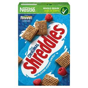 Nestle Shreddies Original Cereal 675G HALF PRICE only £1.50 from 15th Aug @ Tescos