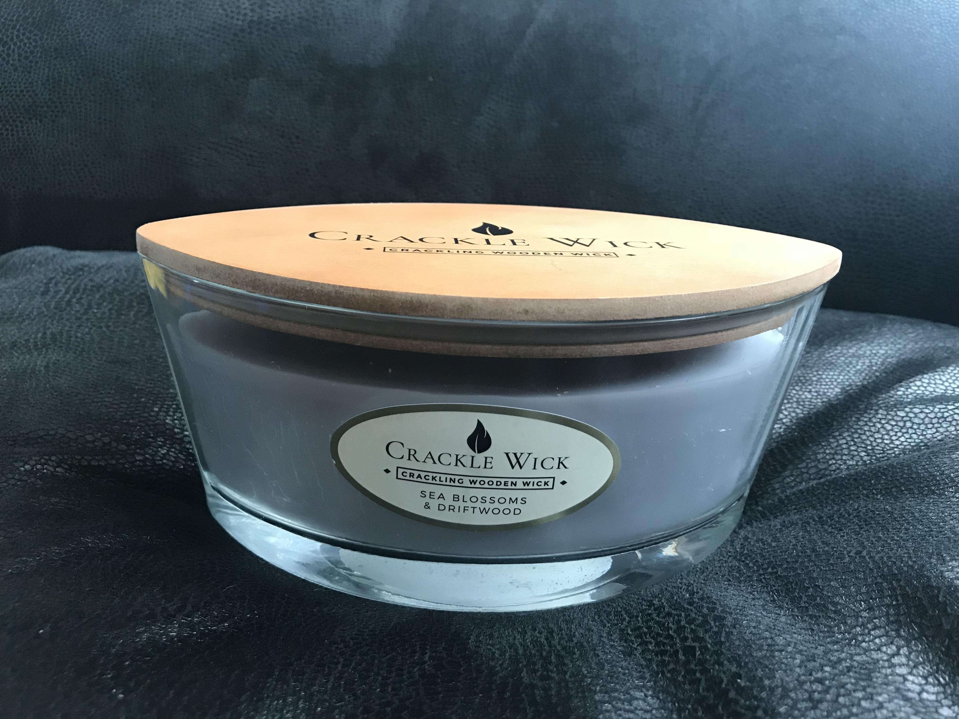 Crackle wick candles (like woodwick) £5.99 @ homebargains