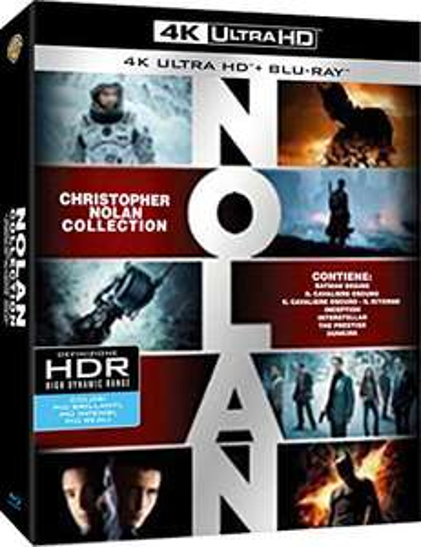 Christopher Nolan 4K Collection (Italian Import) - £59.75 @ Amazon Prime