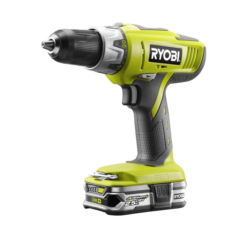 Ryobi ONE+ 18V Cordless Combi Drill Kit 2x2.5Ah £80 Homebase