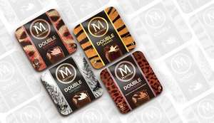 Magnum Double 3 Pack Variety of Flavours £2 @ Tesco