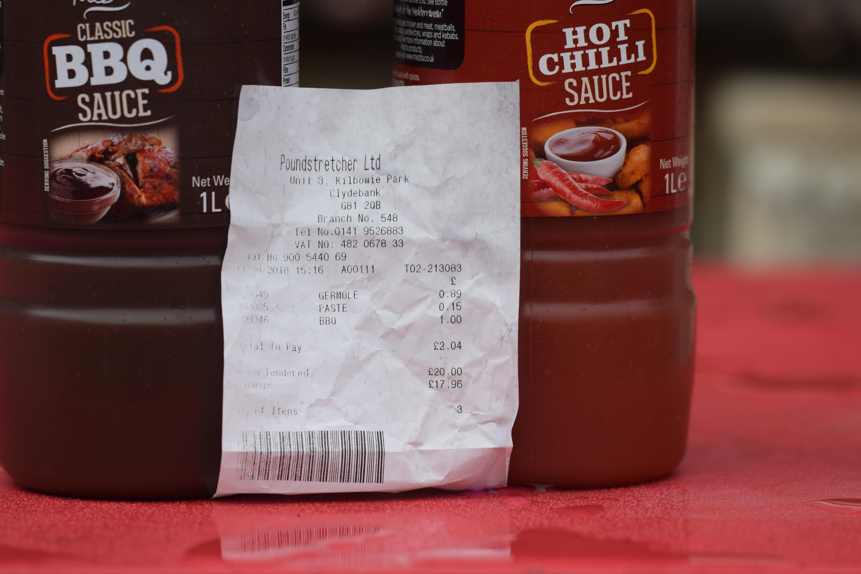 Poundstretcher: Mezita Chili Sauce 1L £1
