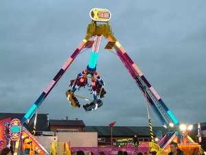 Mega Value Fun Park - Huddersfield, £5 for upto 3 hours of fair rides VALID FOR A FAMILY of 4 @ Planet Radio