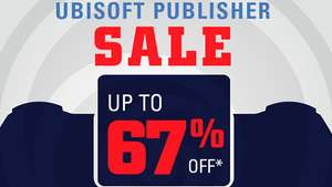 UBISOFT Publisher Sale at PlayStation PSN Store US - Assassin's Creed Black Flag £7.81 Far Cry 4 £9.47 The Division £11.84 Valiant Hearts £3.55 Werewolves Within £5.21 Watch Dogs £7.81 Steep Winter Games £13.03 Far Cry 5 £28.43 Rayman Legends £7.89